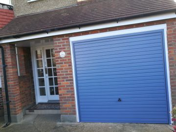 new installation on garage door